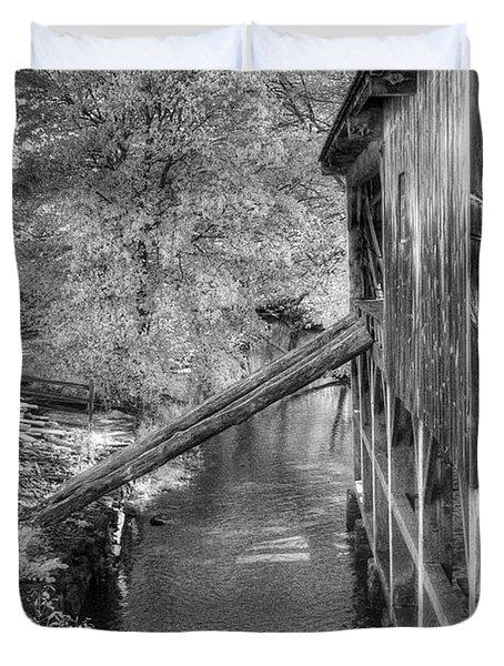 Old Grist Mill Duvet Cover by Joann Vitali