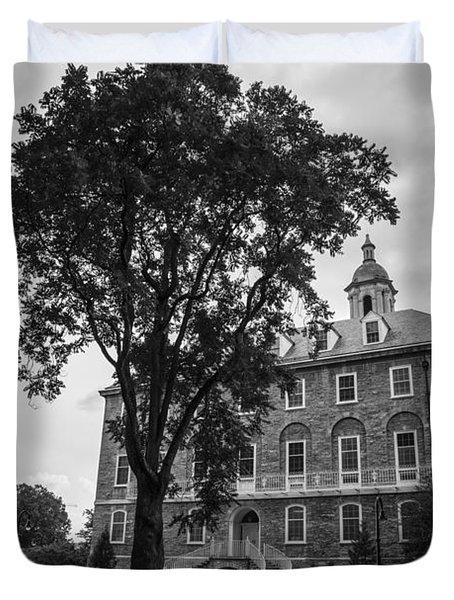 Old Main Penn State Duvet Cover by John McGraw
