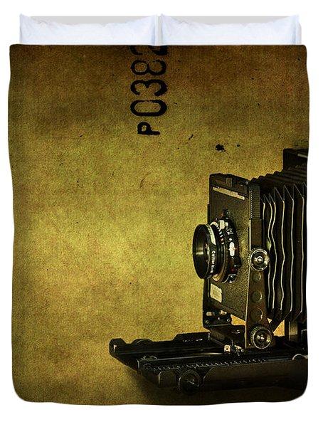 Old School Duvet Cover by Evelina Kremsdorf