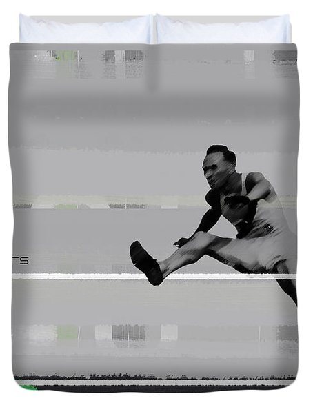 Olympic Wars Duvet Cover by Naxart Studio