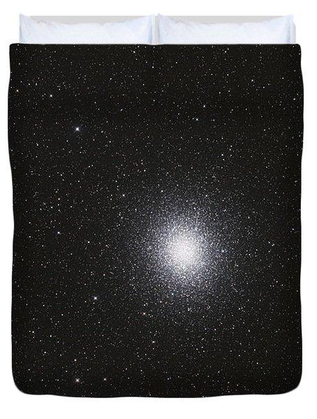 Omega Centauri Globular Star Cluster Duvet Cover by Philip Hart