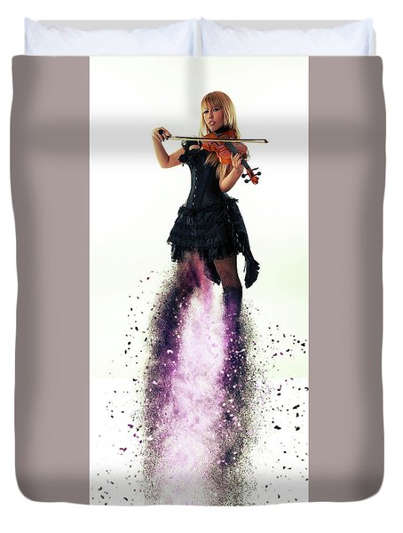 Operatic Duvet Cover by Stephen Smith
