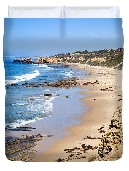 Orange County California Duvet Cover by Paul Velgos
