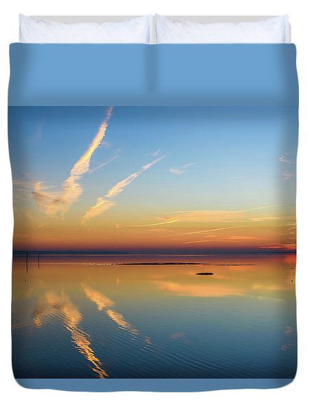 Duvet Cover featuring the photograph Or'dinaire by Thierry Bouriat