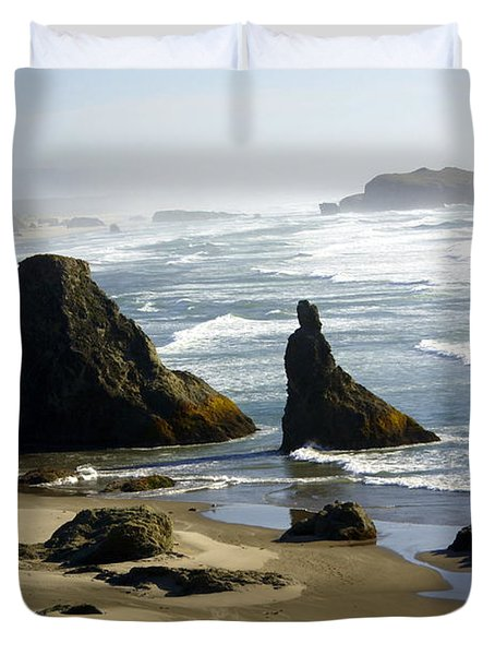 Oregon Coast 19 Duvet Cover by Marty Koch