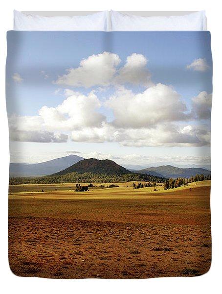 'oregon My Oregon' Duvet Cover by Christine Till