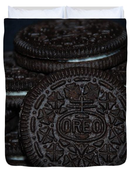Oreo Cookies Duvet Cover by Rob Hans