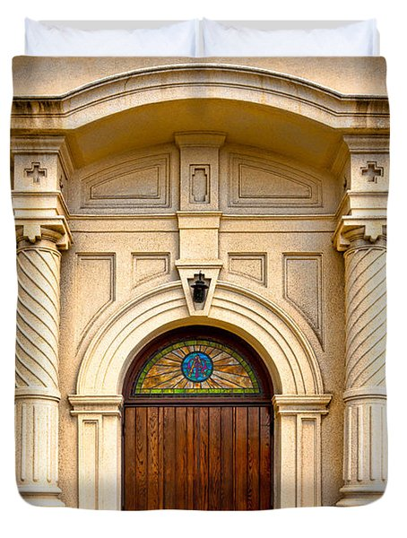 Ornate Entrance Duvet Cover by Christopher Holmes