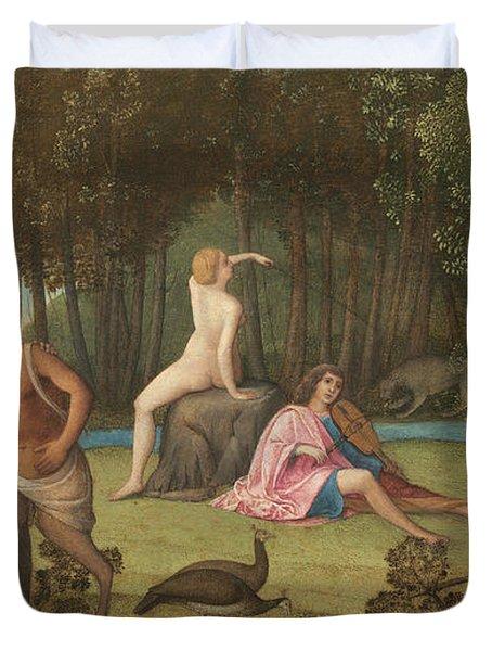 Orpheus Duvet Cover by Venetian School