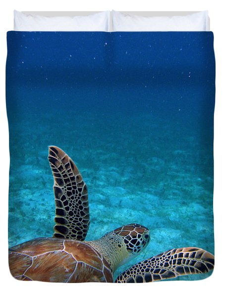 Out To Sea Duvet Cover by Kimberly Mohlenhoff