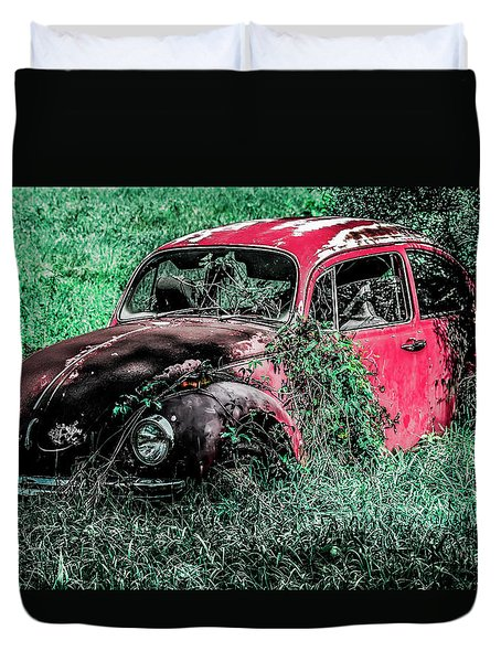 Overgrown Bug Duvet Cover by Jeremy Rickman