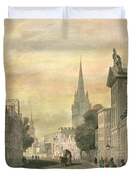 Oxford Duvet Cover by G Hollis