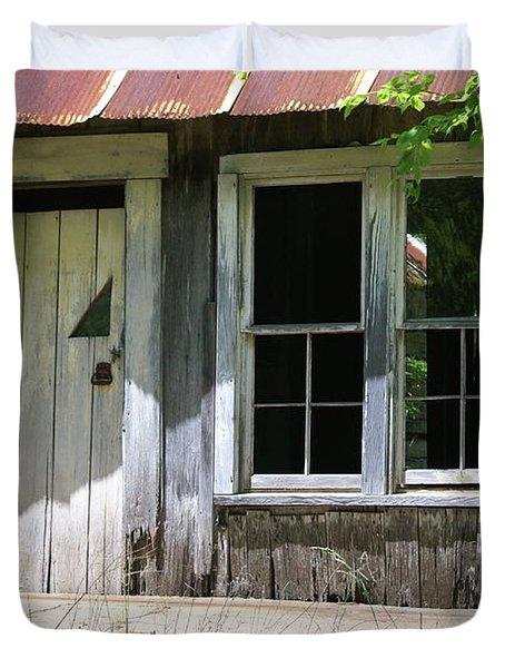 Ozark Homestead Duvet Cover by Marty Koch