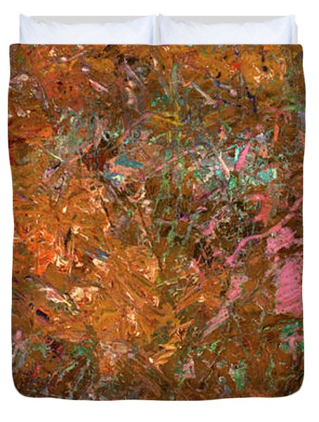 Paint Number 19 Duvet Cover by James W Johnson