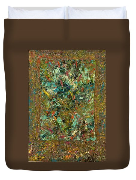 Paint Number 24 Duvet Cover by James W Johnson
