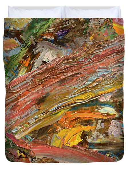 Paint Number 41 Duvet Cover by James W Johnson