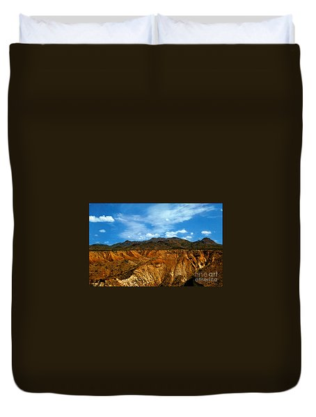 Painted Desert Duvet Cover by Ruth  Housley
