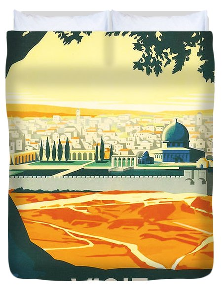 Palestine Duvet Cover by Nomad Art And  Design