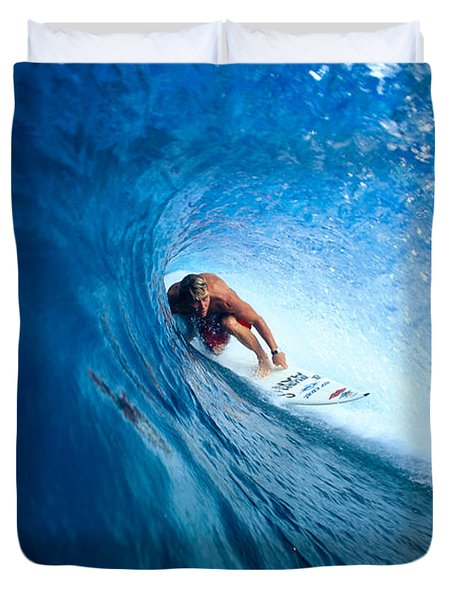 Pancho In The Tube Duvet Cover by Vince Cavataio - Printscapes