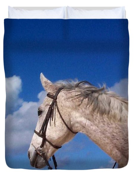 Pancho Duvet Cover by Mary-Lee Sanders