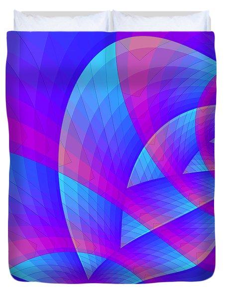 Parabolic Duvet Cover by Jutta Maria Pusl