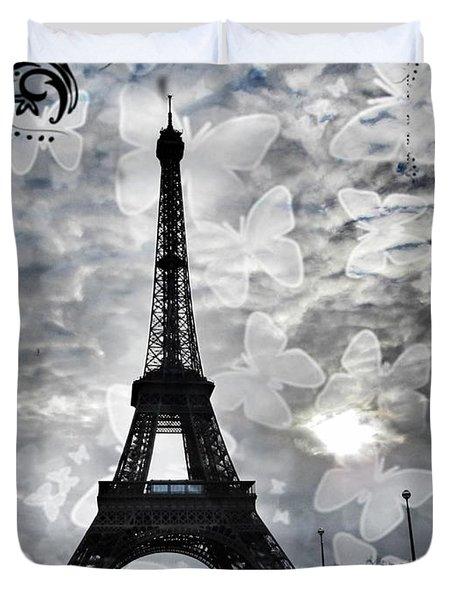 Paris Duvet Cover by Marianna Mills