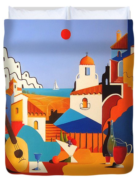 Passion For Life Duvet Cover by Joe Gilronan