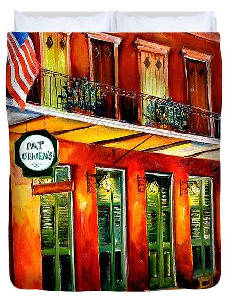 Pat O Briens Bar Duvet Cover by Diane Millsap