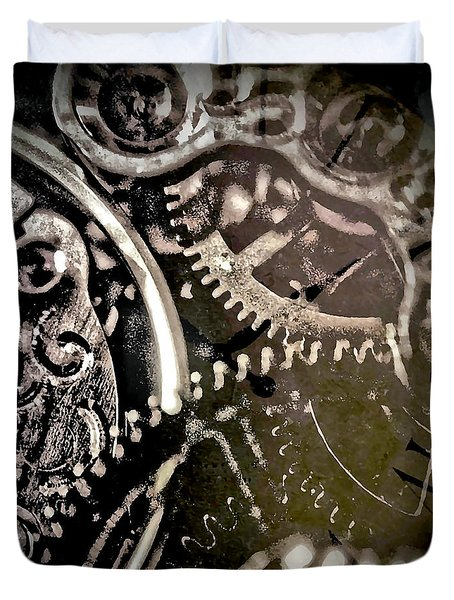 Patience Duvet Cover by Susan Maxwell Schmidt