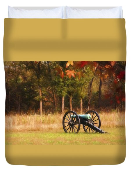 Pea Ridge Duvet Cover by Lana Trussell