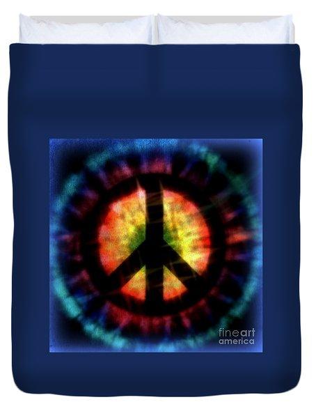 Peace #23 Duvet Cover by WBK