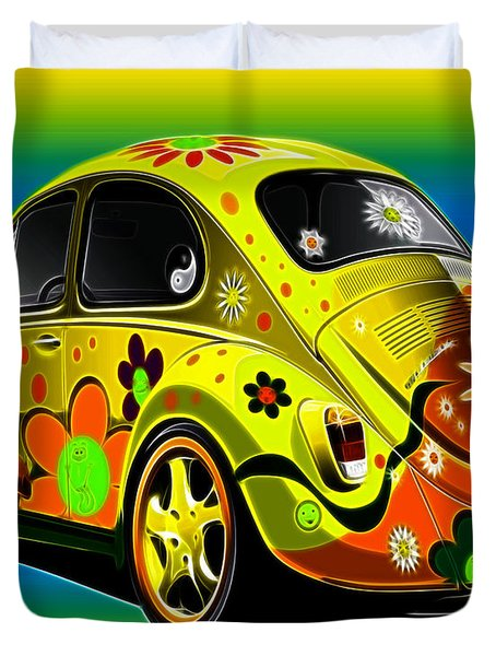 Peace Duvet Cover by Cheryl Young