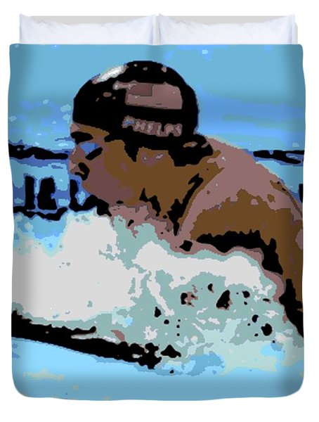 Phelps 2 Duvet Cover by George Pedro