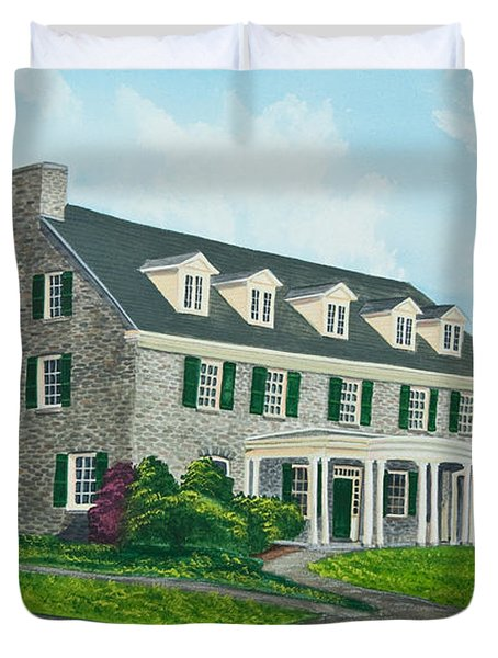 Phi Gamma Delta Duvet Cover by Charlotte Blanchard