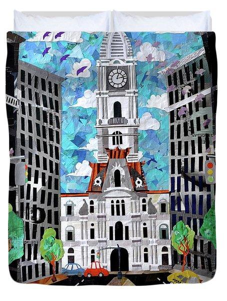 Philadelphia Duvet Cover by Blair Barbour
