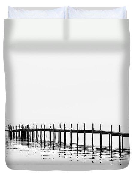 Pier Duvet Cover by Skip Nall