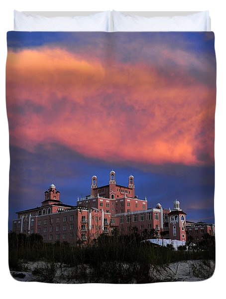 Pink Cloud Duvet Cover by David Lee Thompson