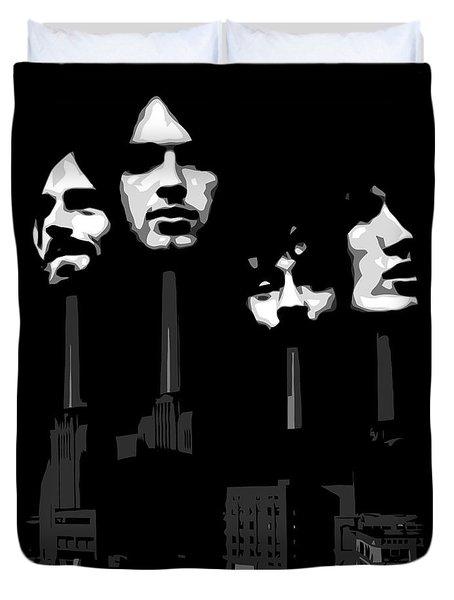 Pink Floyd No.02 Duvet Cover by Caio Caldas