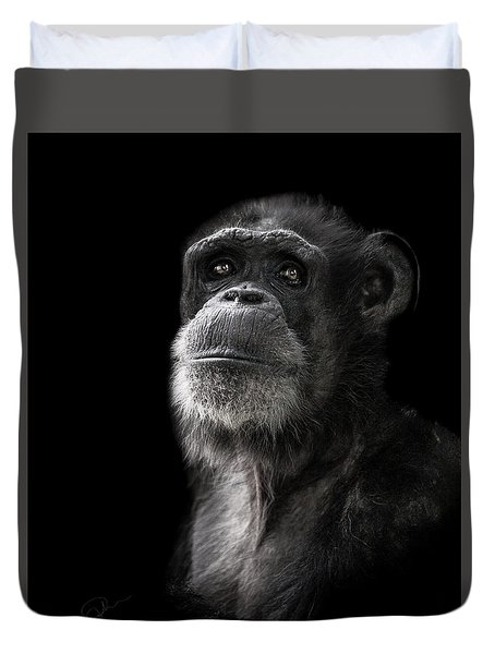 Ponder Duvet Cover by Paul Neville