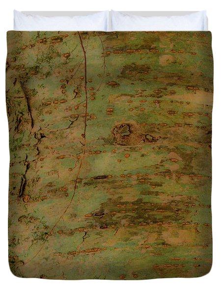 Pores of Life Duvet Cover by Douglas Barnett