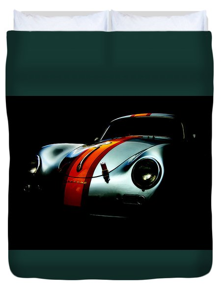 Porsche 1600 Duvet Cover by Kurt Golgart