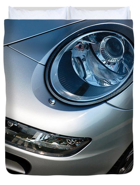 Porsche 911 Duvet Cover by Paul Velgos