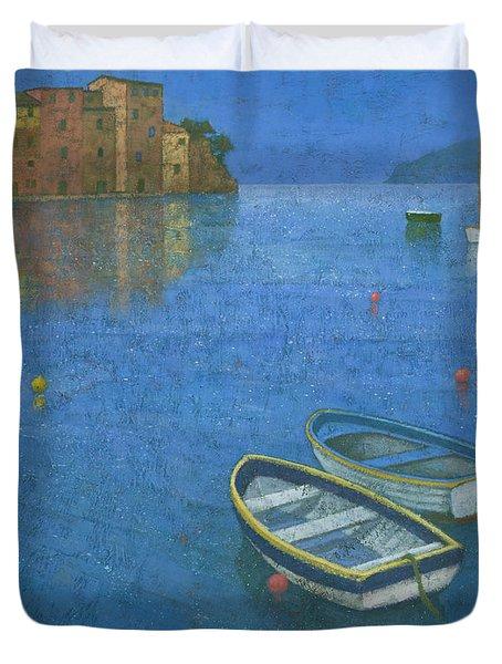 Portofino Duvet Cover by Steve Mitchell