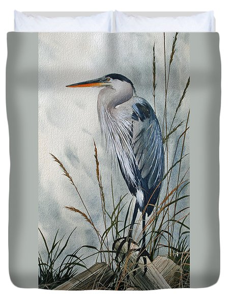Portrait In The Wild Duvet Cover by James Williamson