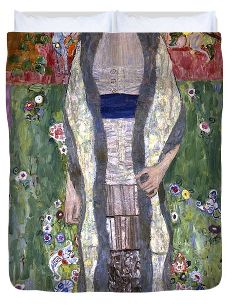 Portrait Of Adele Bloch-bauer II Duvet Cover by Gustav Klimt