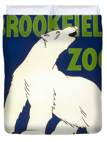 Poster For The Brookfield Zoo Duvet Cover by Unknown