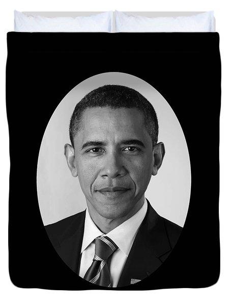 President Barack Obama Duvet Cover by War Is Hell Store