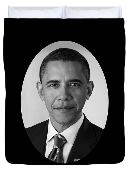 President Barack Obama Duvet Cover by War Is Hell Store