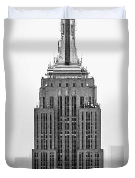 Pride Of An Empire Duvet Cover by Az Jackson