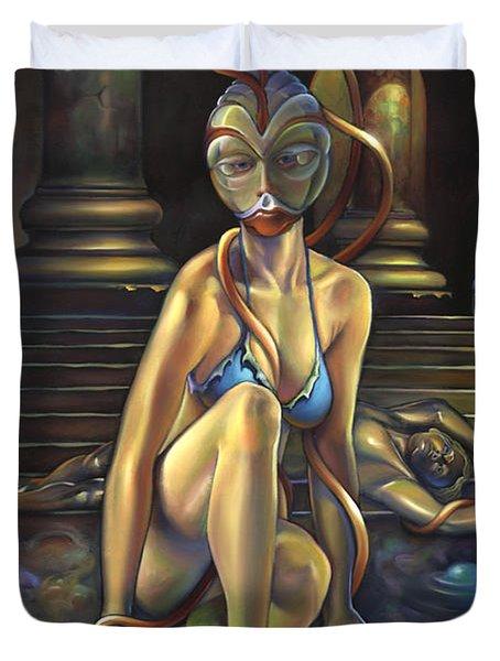 Princess Dejah Thoris Of Helium Duvet Cover by Patrick Anthony Pierson